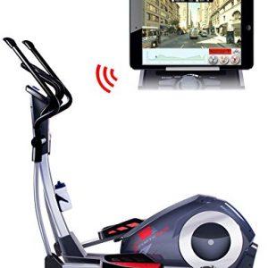 Sportstech CX620 máquina elíptica profesional con control de Smartphone App + Google Street view aplicación, inercia de 21 KG, HRC - Bluetooth - 32 niveles de resistencia