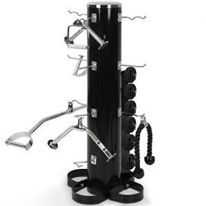 Physioncis - Soporte para agarres de fitness gimnasio - aprox. 54,5/52/120,5 cm