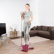 Ultrasport 330300000017 - Stepper para mujeres, con cintas de entrenamiento