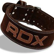 RDX Cuero Gimnasio Cinturón Musculacion Peso Entrenamiento Cinturones Pesas Levantamiento
