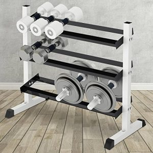 Physionics - Estante para mancuernas con capacidad de carga de 150 kg