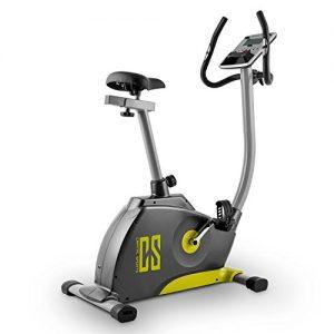Capital Sports ERGO 1 Ergómetro Bicicleta estática maquina de cardio (bici con pulsómetro, pantalla LCD, ordenador con bluetooth, manillar volante de inercia, programas individul entrenamiento, APP para Smartphone, verde)