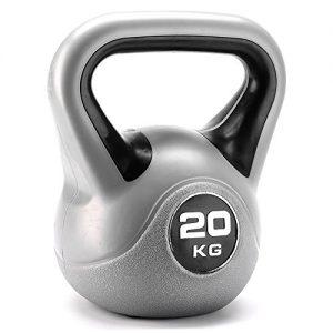 York Fitness - Pesa rusa (vinilo) Black 20kg Talla:20kg