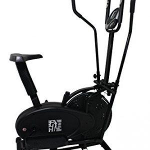Olympic 126 Elliptical - Bicicletas estáticas y de spinning para fitness, color negro