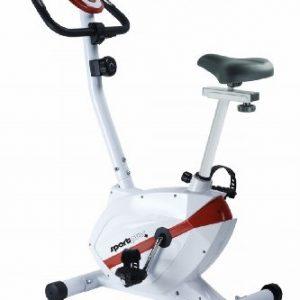 Sport Plus SP-HT-2408-R Bicicleta Estática para el Hogar con Resistencia Ajustable, Unisex Adulto, Talla Única
